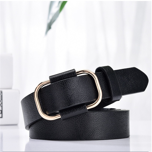 No Need To Punch Hole Japanese Pin Buckle Belt Men And Women Korean Fashion Versatile Belt Comfortable Soft Belt