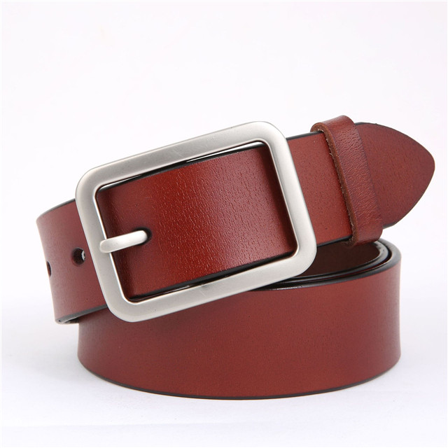 Men's Leisure Leather Belt Commuting Leather Belt Men's And Women's Cowhand Decorative Leisure Pin Buckle Belt Belt