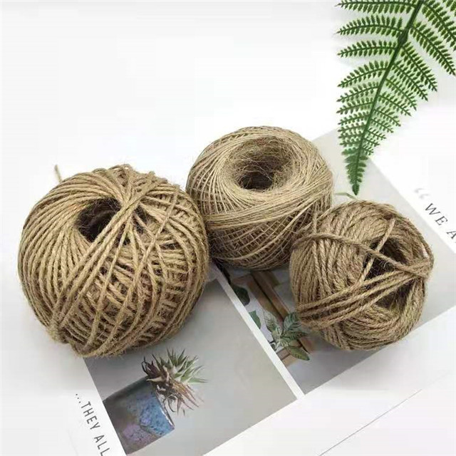 Packing Hemp Rope Photo Wall Dedicated Christmas Diy Handmade Clothing Accessories Flower Decoration Ribbon
