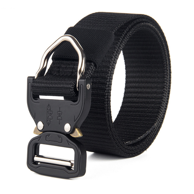 Free Laser Logo Men Waist Belt Adjustable Quick Release Nyln Cobra Buckle Military Belt 100 - 999 Pieces