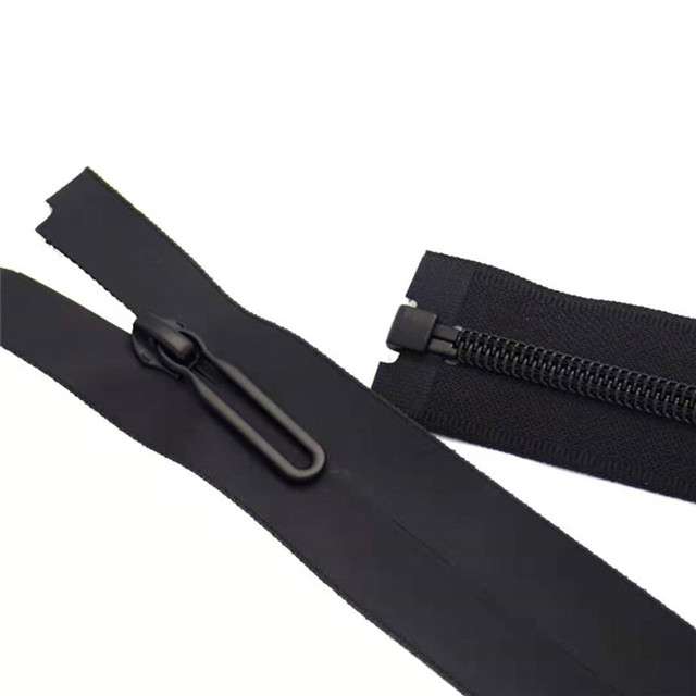 Zipper Slider Nylon Custom Waterproof Plastic Invisible Zipper Puller