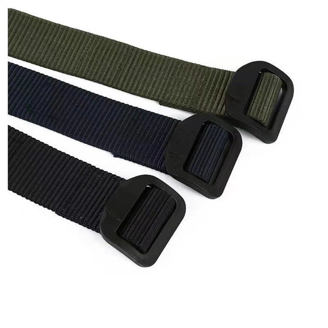 Oem Wholesale Customized Polyester Canvas Webbing Belt School Belt