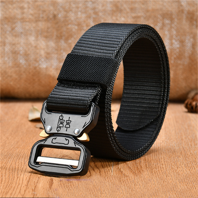 Fatcory Price Tactical Belt Adjustable Military Style Nylon Belts with Cobra Buckle Belt
