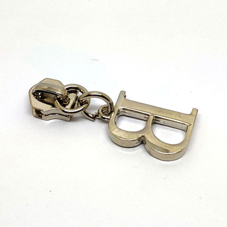 Elegant Strong Letter B Design Custom Nickle Zipper Puller Professional Manufacturer