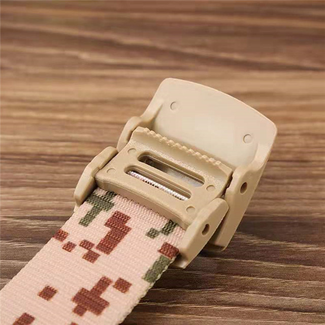 "Custom Canvas Web Belts for Men Solid Color Military Style 1.5"" Wide FlipTop Belt"