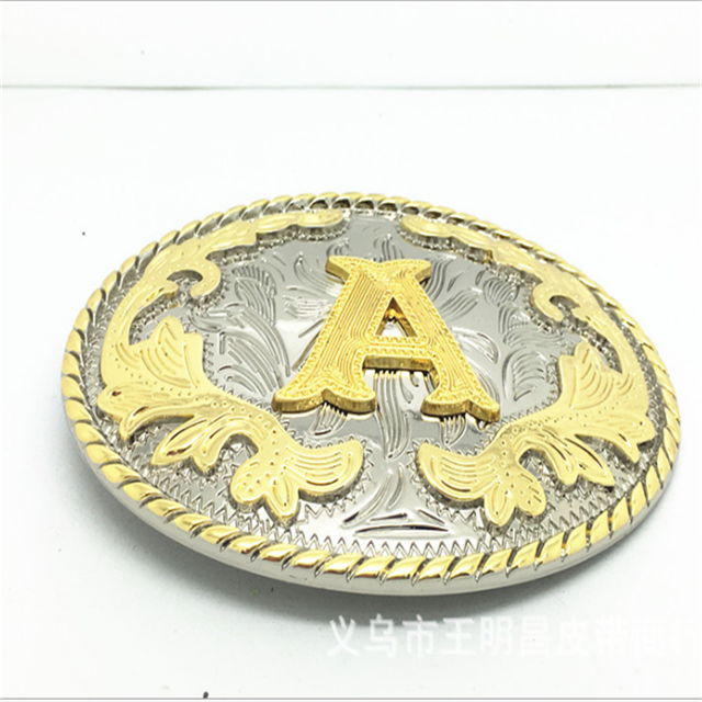 Professional Manufacturer Custom Design Western Belt Buckle For Men Metal Zinc Alloy Material